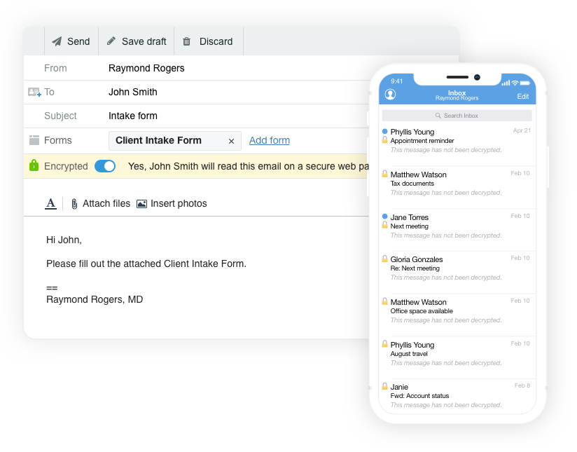Hushmail - Encrypted Email, Web Forms & E-Signatures